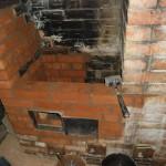 Печь-шведка. Ремонт. Наружные стенки восстановлены