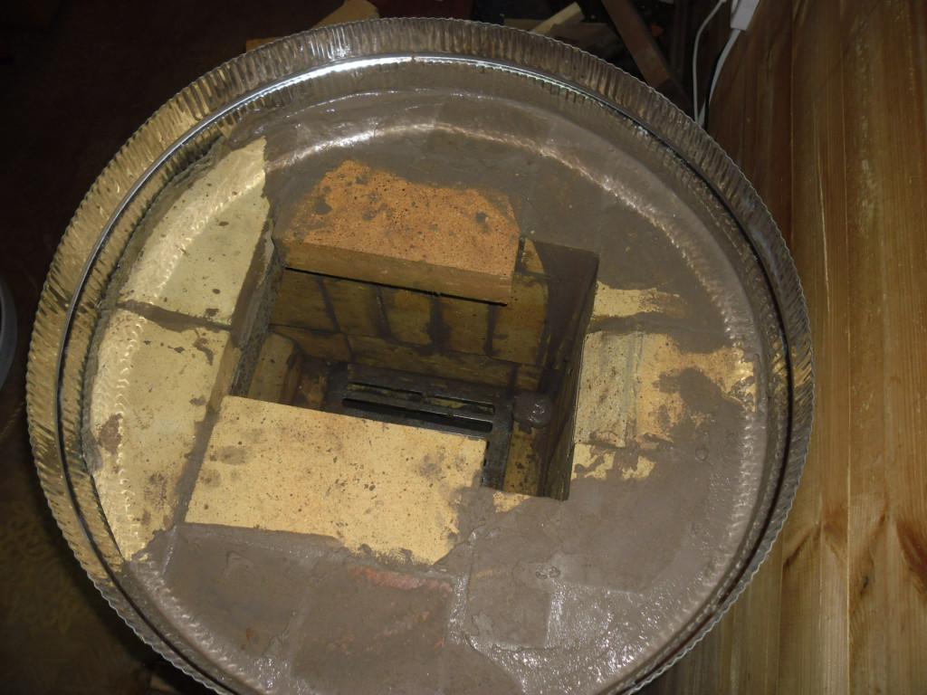 Печь в металлическом футляре своими руками 537