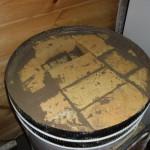 Как сложить голландку в круглом футляре 5