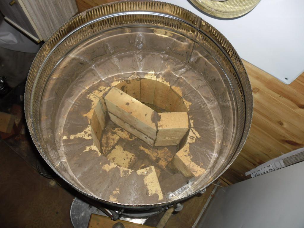 Как сложить круглую печь 19